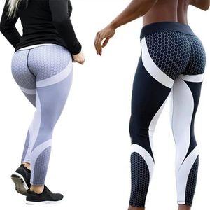 2 Pair of Women's 3D Print Athletic Yoga Pants